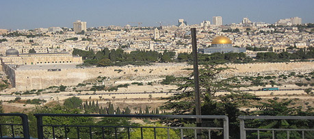 Mt. Of Olives View – photo by Marci Isaacs